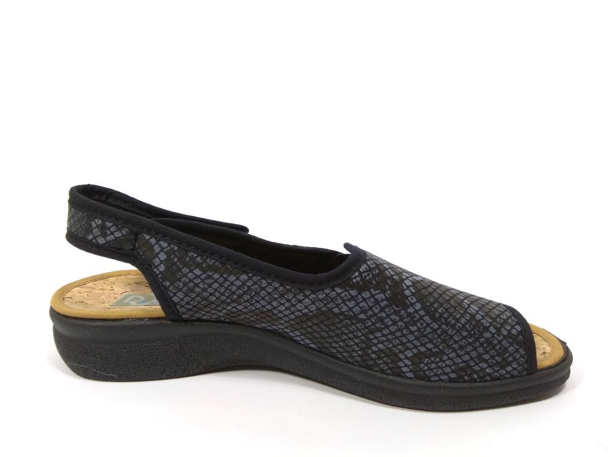 NegroCalzados Sandalia Velcros StaClara Licra 1372 Roal nk0wOP